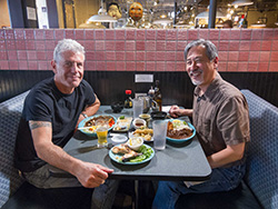 Anthony Bourdain and Curt